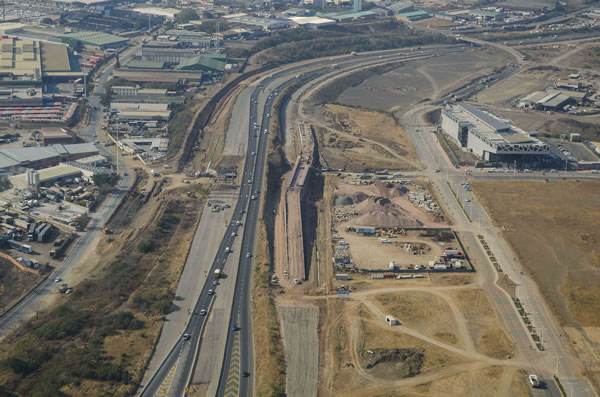 Development at Bridge City to the north of Durban is ...