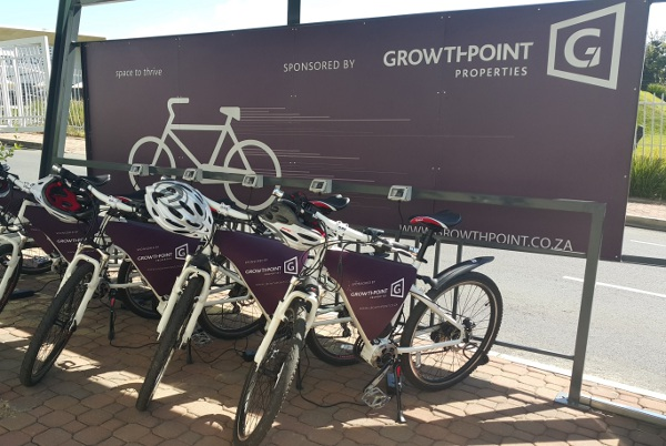 Growthpoint_Properties_Eco_Friendly_Bikes_Station