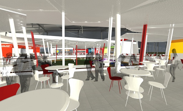 Menlyn Park Shopping Centre New Food  Entertainment Court