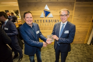 Chris van Voorden Henk Deist CEO of Atterbury