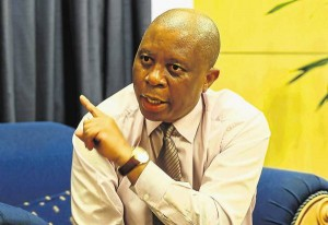 Mayor of Johannesburg Mr Herman Mashaba