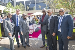Central Square Menlyn Maine ribbon cutting ceremony