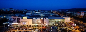 Exterior view of Lulius Mall Iasi ATTERBURY EUROPE