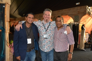 0315 Robbie Naidoo, Eugene Boniface and Nithian Naidoo at the Sibaya Sun Park Launch - 23 February 2018 - Copy