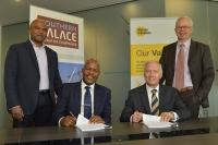Jerome Govender Infrastructure Building Business Platform Lucas Tseki Southern Palace Group Henry Laas Murray Roberts Holdings Limited and Cobus Bester Murray Roberts