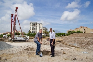 Luxury Oasis retirement apartments now under construction