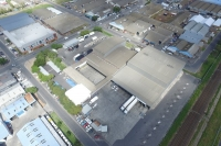 Aerial view cold storage in Bellville