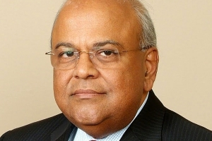 Pravin Gordhan Finance Minister