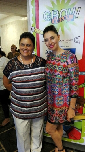 Growsmart Western Cape Karen Dudley and Jewel Harris