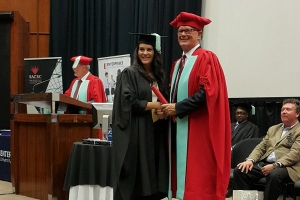 CSCM Ilse Pretorius and Professor Chris Cloete