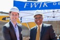 Rhys Rocke Regional Director FWJK Developments Mayor Herman Mashaba